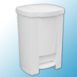 Корзина с открывающейся крышкой для мусора с педалью (28л)