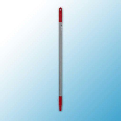 Ручка эргономичная алюминиевая, Ø25 мм, 1050 мм, красный цвет