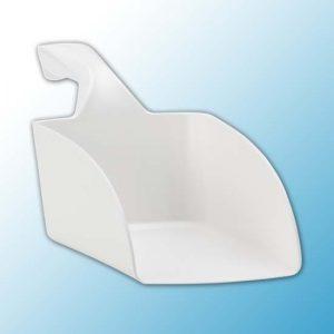 Совок ручной малый, 0,5 л, белый цвет