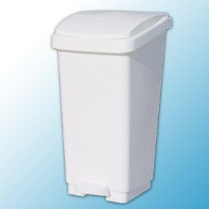 Корзина с открывающейся крышкой для мусора с педалью (50л)