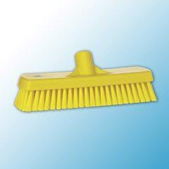 Щетка для мытья полов и стен, 305 мм, средний ворс, желтый цвет