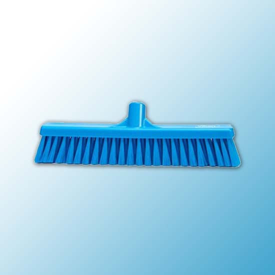 Щетка для подметания пола мягкая, 410 мм, Мягкий, синий цвет