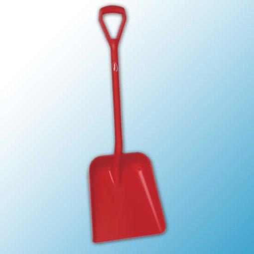 Лопата, 379 x 345 x 90 мм., 1035 мм, красный цвет