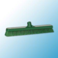 Щетка для мытья полов и стен, 470 мм, жёсткий ворс, зеленый цвет