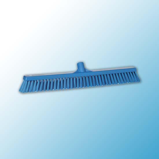 Щетка для подметания с комбинированным ворсом, 610 мм, Мягкий/жесткий, синий цвет