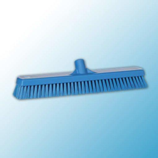 Щетка для мытья полов и стен, 470 мм, жёсткий ворс, синий цвет
