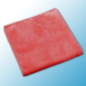 МикроТафф Бэйс Вязанная микроволоконная салфетка красная