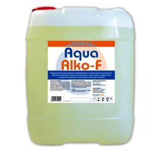 AquaAlko-F 5л- щелочное пенное моющее средство
