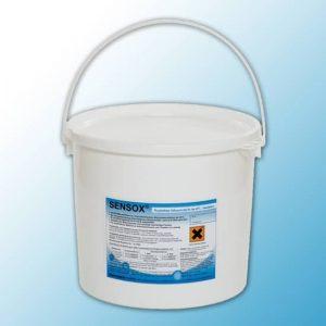 Кислородный отбеливатель-порошок для стирки белого и текстиля и удаления трудновыводимых загрязнений SENSOX -12 кг