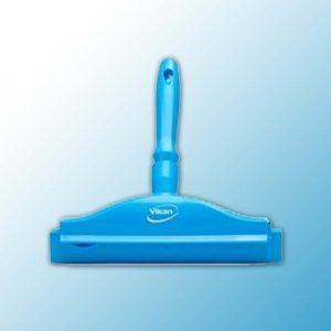 Гигиеничный ручной сгон со сменной кассетой, 250 мм, синий цвет