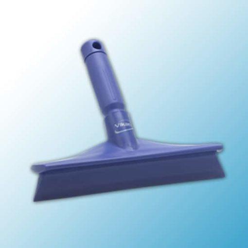 Сверхгигиеничный сгон для столов с мини-ручкой, 245 мм, фиолетовый цвет