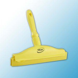 Гигиеничный ручной сгон со сменной кассетой, 250 мм, желтый цвет