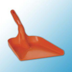 Совок ручной, 327 x 271 x 50 мм., 550 мм, оранжевый цвет