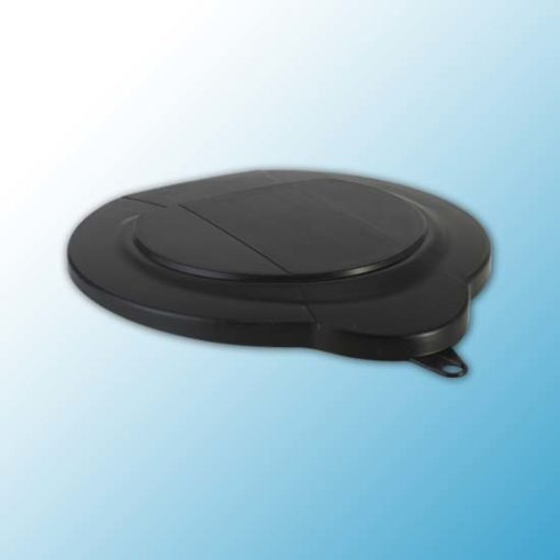 Крышка для ведра арт. 5688, 6 л, черный цвет