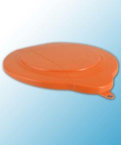 Крышка для ведра арт. 5688, 6 л, оранжевый цвет