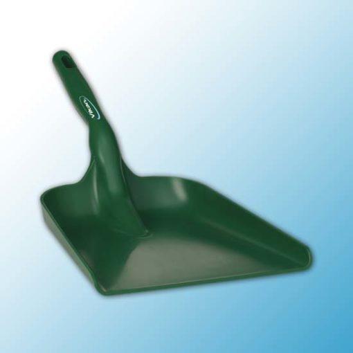 Совок ручной, 327 x 271 x 50 мм., 550 мм, зеленый цвет