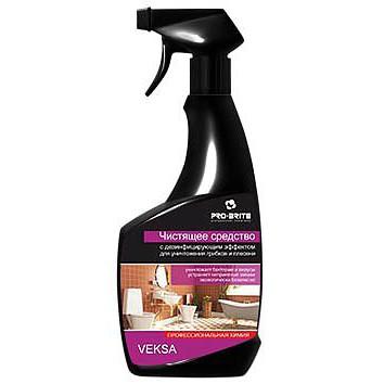 Чистящее и дезинфицирующее средство для ванной комнаты Veksa 0,5л