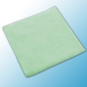 МикроТафф Бэйс Вязанная микроволоконная салфетка зеленая