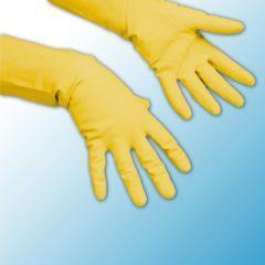Перчатки многоцелевые желтые