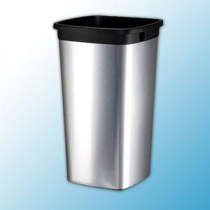 ирис контейнер пластиковый с металлическим покрытием прямоугольный