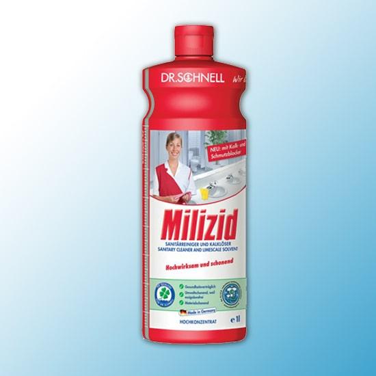Milizid Средство для очистки санитарных зон и удаления отложений 1 литр