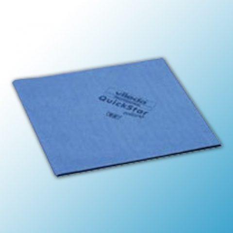 Салфетка КвикСтар микро 38х40см синяя