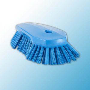 Щетка ручная скребковая, 240 мм, Очень жесткий, синий цвет
