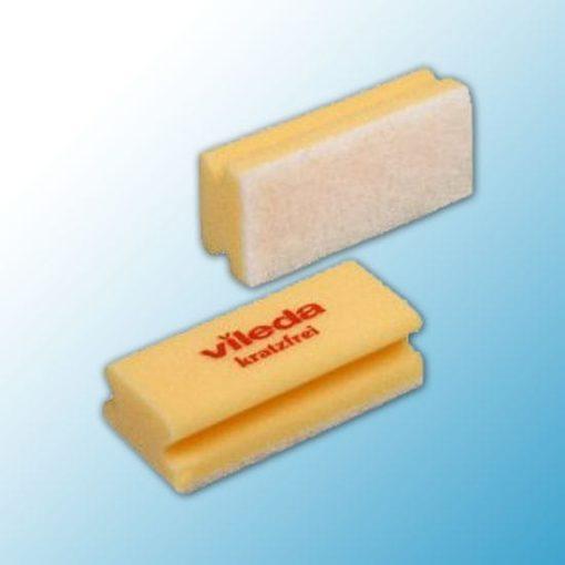 Губка Виледа мягкая 7*15 см, желтая