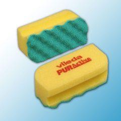 Губка Профи с системой ПурАктив 6,3х14х4,5 см желтая