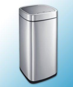 Корзина сенсорная,объем 35 л, матовая сталь