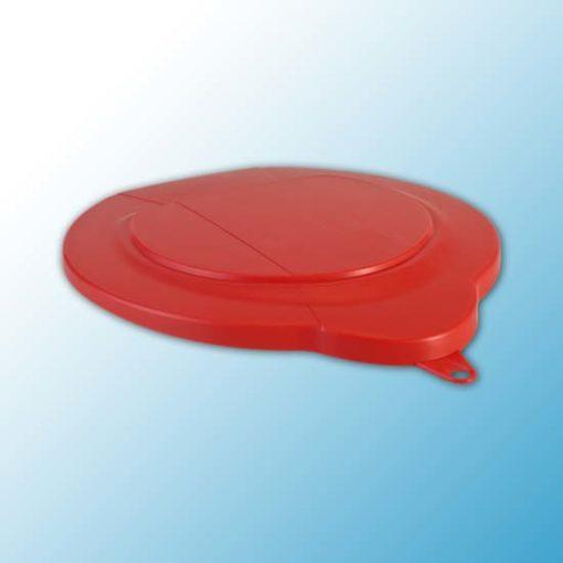 Крышка для ведра арт. 5688, 6 л, красный цвет