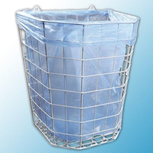 Корзина для использованных бумажных полотенец подвесная 22 л.