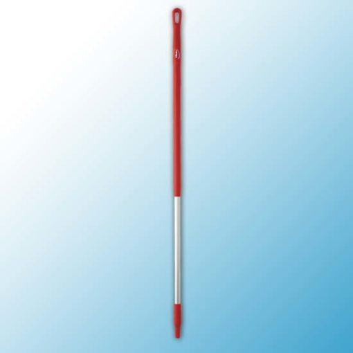 Ручка эргономичная алюминиевая, Ø31 мм, 1310 мм, красный цвет