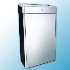 """Корзина для мусора металлическая """"MERIDA STELLA"""" 27 литров (полированная)"""