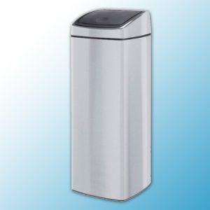 """Корзина для мусора металлическая матовая """"Touch bin"""" (25л)"""
