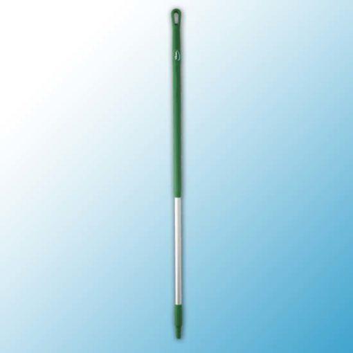 Ручка эргономичная алюминиевая, Ø31 мм, 1310 мм, зеленый цвет