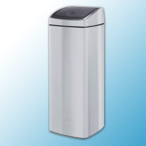 """Корзина для мусора металлическая полированная """"Touch bin"""" (25л)"""