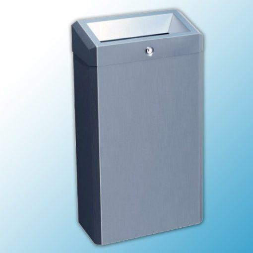 """Корзина для мусора с конусным отверстием металлическая """"MERIDA STELLA"""" (матовая)"""