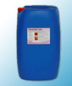 Pentasol Ultra активатор для удаления сильных загрязнений и жирорастворяющее средство 55кг