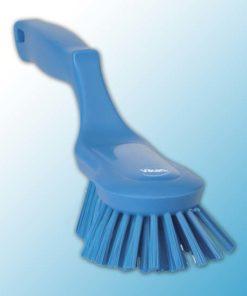 Щетка ручная эргономичная, 330 мм, Жесткий, синий цвет