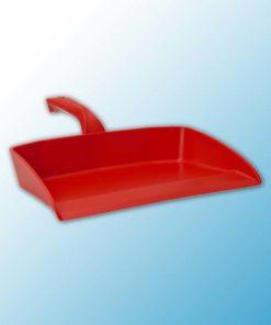 Совок для мусора, 330 мм, красный цвет