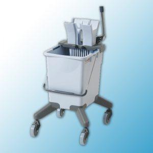 УльтраСпид Про: одноведерная система на колесах без транспортировочной ручки