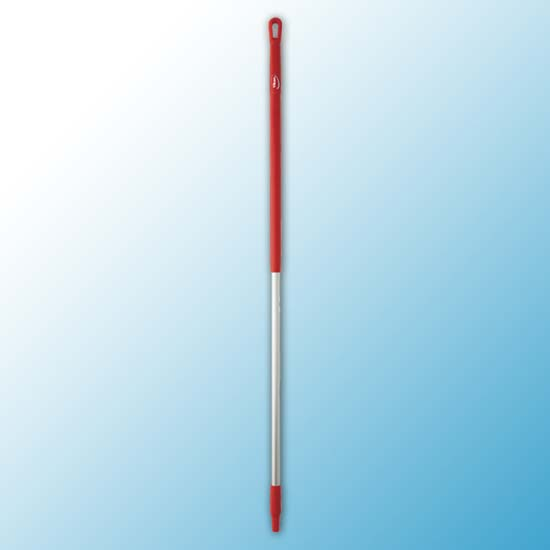 Ручка эргономичная алюминиевая, Ø31 мм, 1510 мм, красный цвет