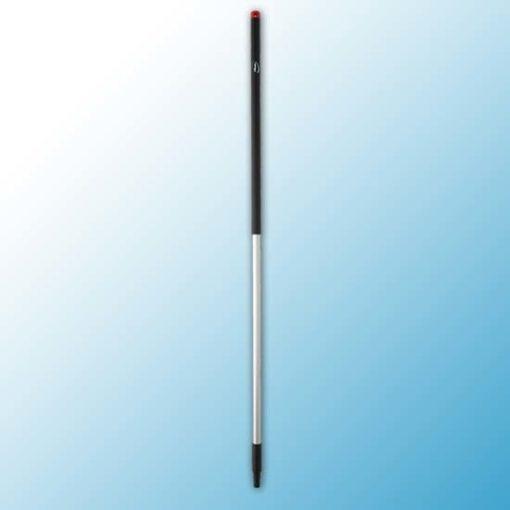 Алюминиевая ручка, Ø31 мм, 1505 мм, черный цвет