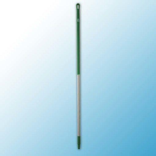 Ручка из нержавеющей стали, Ø31 мм, 1510 мм, зеленый цвет