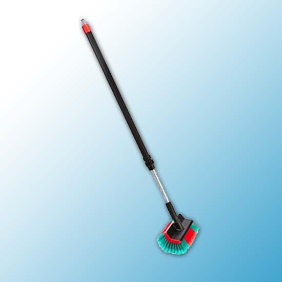 Щетка с подачей воды, 280 мм, Мягкий/ расщепленный, черный цвет