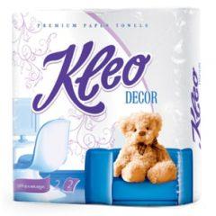 """Полотенца бумажные """"Kleo Decor"""" 2-х сл. 2 рул.x24"""