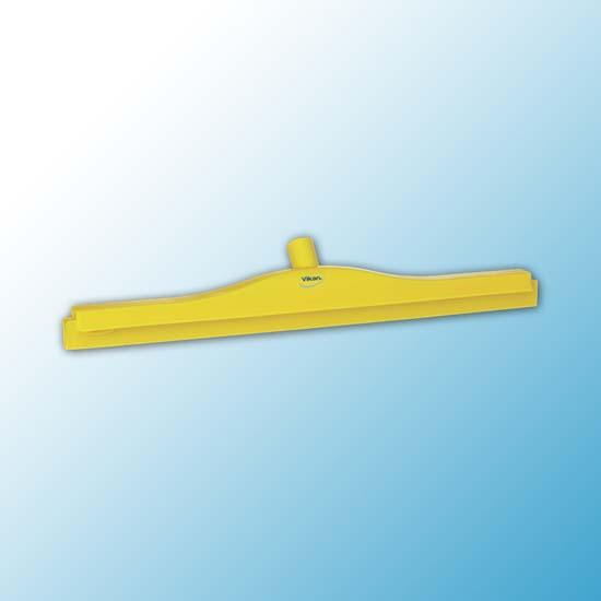 Гигиеничный сгон для пола со сменной кассетой, 605 мм, желтый цвет