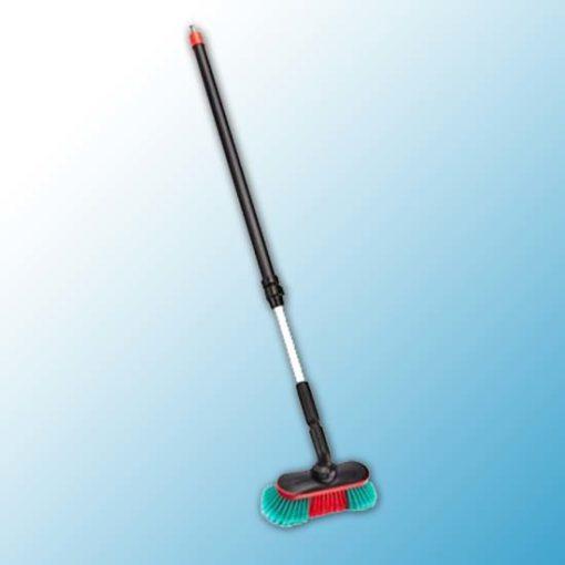 Шетка для автомобиля с подачей воды, 250 мм, Мягкий/ расщепленный, черный цвет