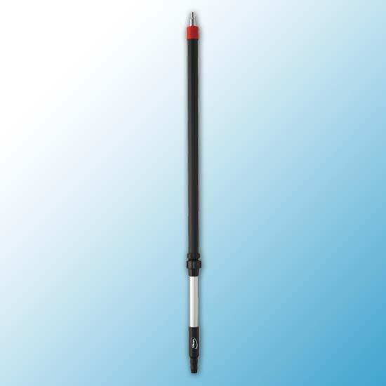 Алюминиевая ручка с подачей воды, 1080 - 1600 мм, Ø32 мм, черный цвет